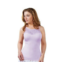 SPANX Hide and Sleek Lace Bateau Slimming Camisole in Rose or Lilac