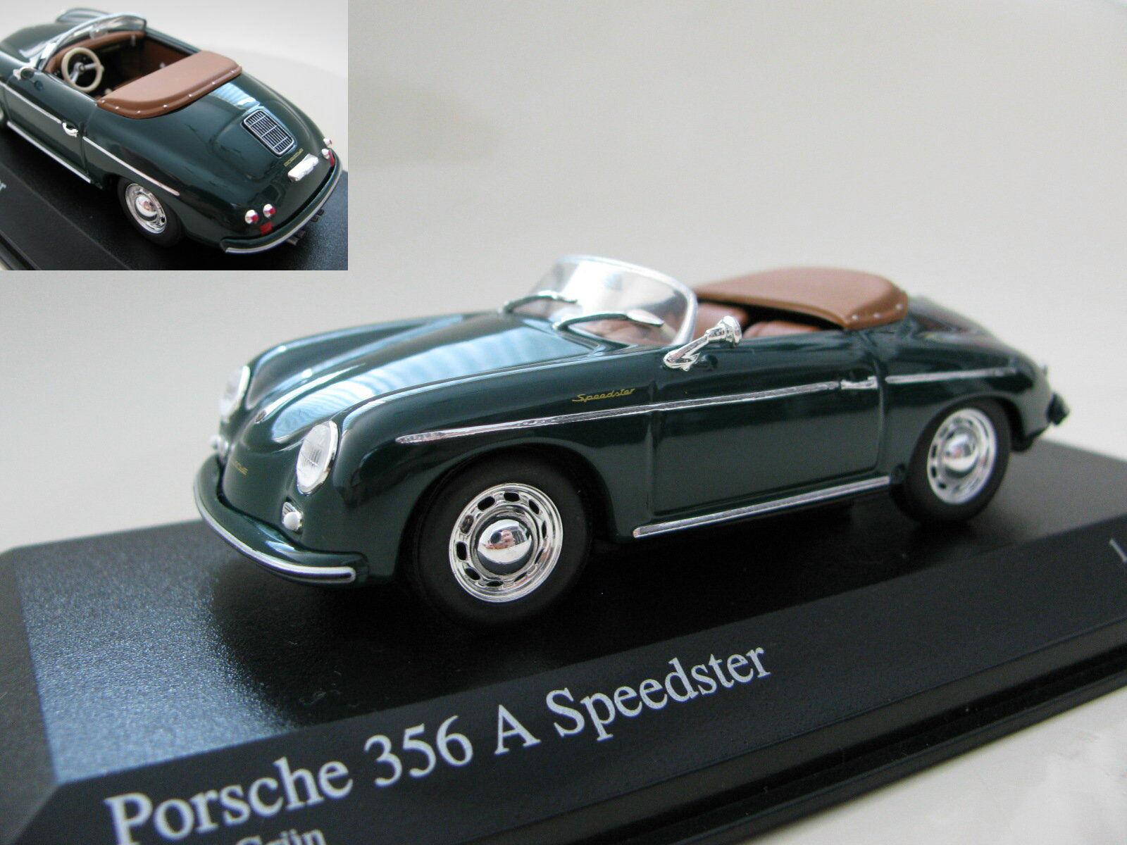 1 43 MINICHAMPS PORSCHE 356  A Speedster (1956) Diecast  no.1 en ligne