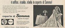 W1766 Coperte di SOMMA coperte di sogno - Pubblicità del 1958 - Vintage advert