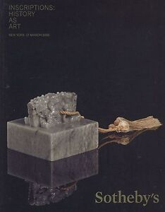 Sotheby-039-s-New-York-Catalogue-Chinese-Inscriptions-History-as-Art-2015-HB