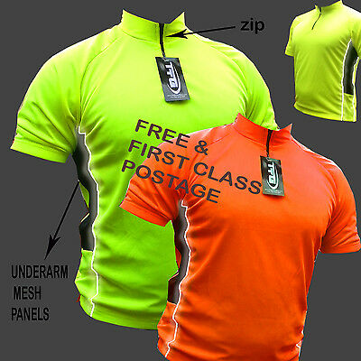 CYCLING COOL FLO JERSEY SHIRT TOP JACKET IDEAL FOR CYCLING RUNNING REAR POCKET !