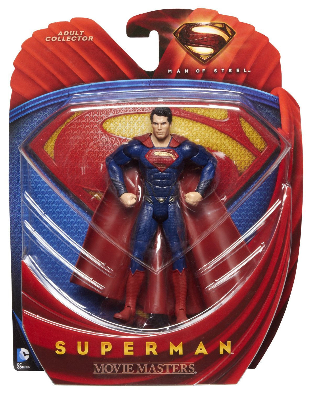 SUPERMAN ( 6  ) MAN OF STEEL ( ( ( MOVIE MASTERS ) DC COMICS ( 2013 ) ACTION FIGURE fad728