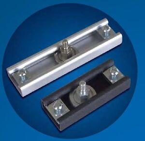 IDA Motion TR-R-120-G track roller rail (mating part TR-3536) - galvanized steel