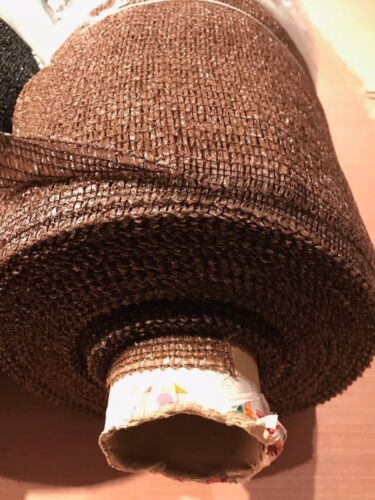 Brown or Black 1.5m x 50m Garden Shade netting Shade Green
