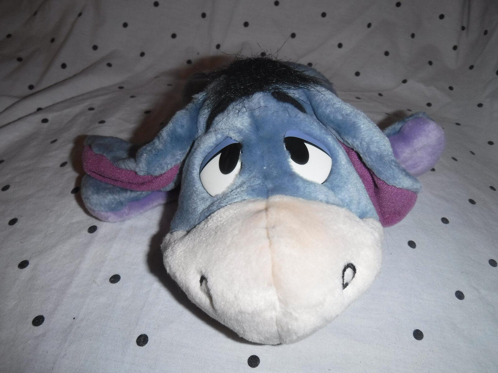 Arcotoys Eeyore Winnie the Pooh Puppet 9  Plush Soft Toy Stuffed Animal