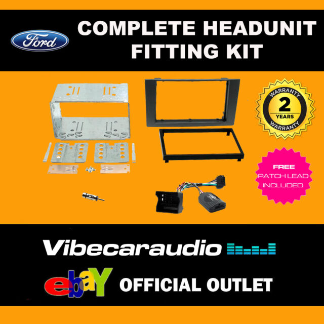 Connects 2 CTKFD49 Ford Mondeo 2003-2007 Complete Double Din Fitting Kit