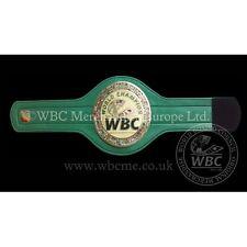 Consejo Mundial de Boxeo Cinturón Mini oficial