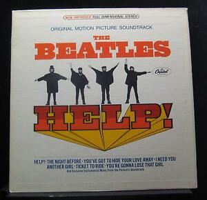 The-Beatles-Help-Soundtrack-LP-VG-SMAS-2386-Stereo-1965-USA-Capitol-Record