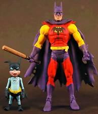 BATMAN UNLIMITED - PLANET-X BATMAN w/ BAT-MITE - 6.75 INCH ACTION FIGURE - NIP