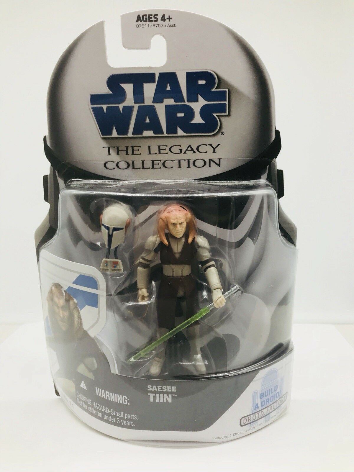 Star Wars Legacy Collection Saesee Tiin  Clone Wars BD11 with  leg for R7-T1