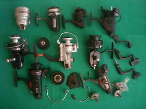 Details about Vintage Fishing Reel FOR PARTS Lot Shakespeare Zebco Garcia  Silstar Daiwa 1500