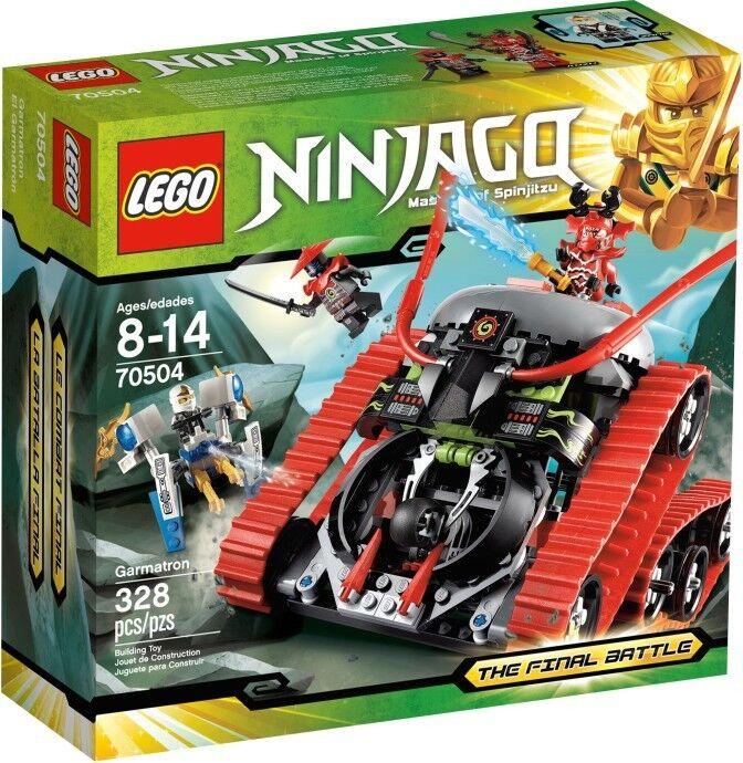 LEGO ® NINJAGO 70504 GARMATRON BRAND NEW    OVP  NUOVO SIGILLATO