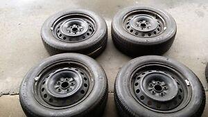 4-xToyota-Avensis-Sommerraeder-195-60-R15-88H-DOT-1809-ca-7mm-Profil