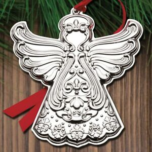 2018-Gorham-Chantilly-Angel-11th-Edition-Annual-Sterling-Ornament-NEW