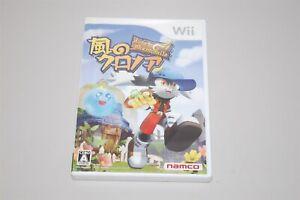 Kaze no Klonoa door to phantomile Japan Nintendo Wii game