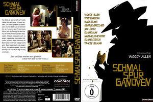DVD SCHMALSPURGANOVEN - WOODY ALLEN + HUGH GRANT + JON LOVITZ + TONY DARROW *NEU