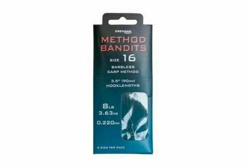 Drennan Method Bandits Carp Method Hooks To Nylon Coarse Fishing
