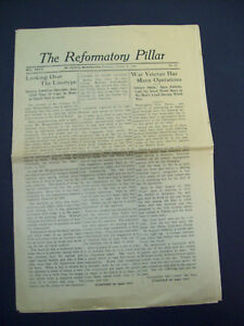 Details about THE REFORMATORY PILLAR ST  CLOUD, MINN OCTOBER 8, 1929 prison  newspaper