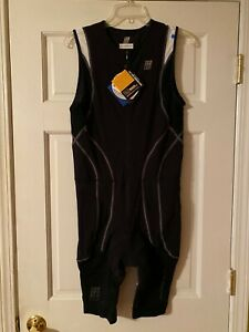 NEW-CEP-Triathlon-Compression-Skinsuit-Mens-Size-5-XL-Black-NWT