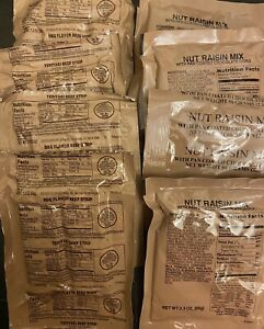 MRE Beef Jerky And Trail Mix (Q12)