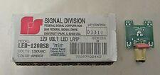 Federal Signal Led 120asb 120v Series B Amber Led Lamp New In Box