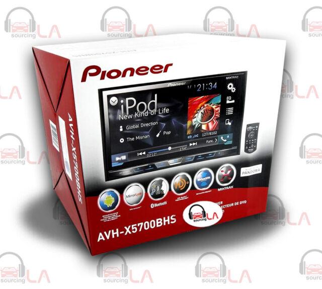 "PIONEER AVH-X5700BHS In-DASH 7"" DVD CAR STEREO RECEIVER w/ BLUETOOTH"