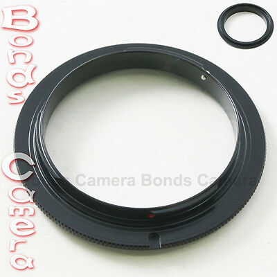 55 MM 55MM Macro Reverse Lens Adapter Ring For Sony Alpha AF A mount DSLR camera