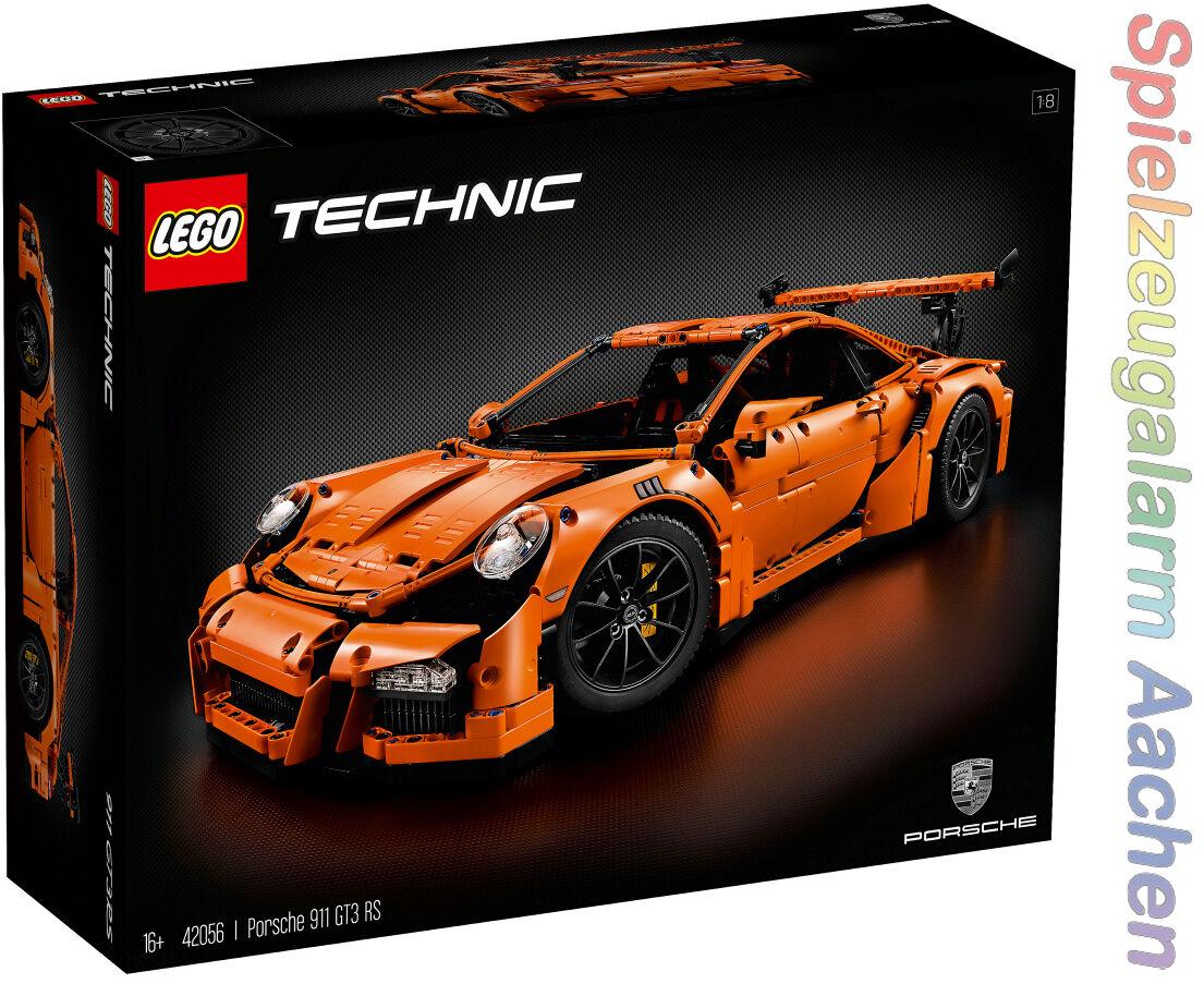 LEGO 42056 in esclusiva Technic PORSCHE 911 gt3 RS 6 cilindri boxer MOTORE n16/8