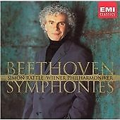 Simon Rattle - Beethoven (Symphonies, 2003) - 5 CD Set - Very Good Condition.