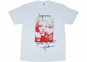 189f773049ce NEW Supreme Madonna Tee FW18 in WHITE sz XL *AUTHENTIC* | eBay