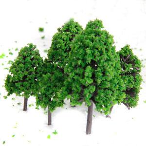 12pz-Scala-1-50-Alberi-Verde-Per-Modellismo-Treni-Diorami-Parco-Strada