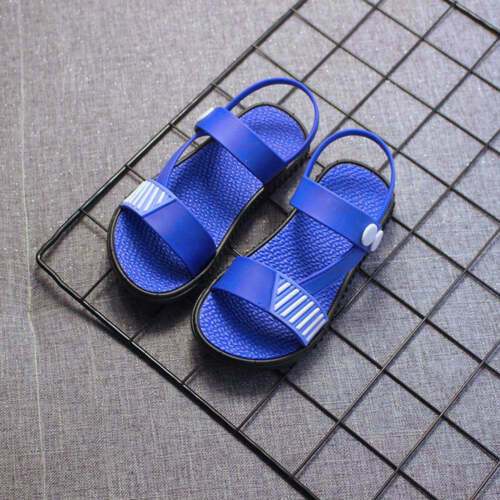 Baby Kids Girls Boys Shoes Summer Beach Casual Single Sandals Leather Shoes Fine