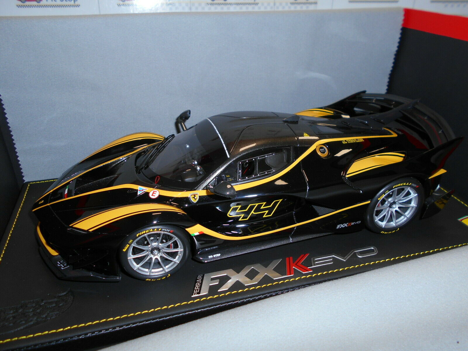 BBRP18158D by BBR FERRARI FXX EVO black STELLATO L.E.36 PCS 1 18