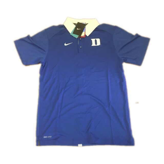 964c84d31 NEW NWT Duke Blue Devils Elite Nike Coaches Dri-FIT Men's Polo Shirt Size  Small