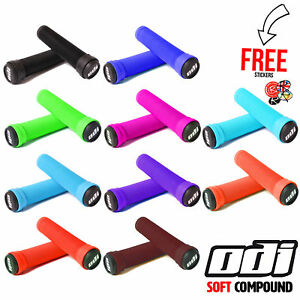ODI-Soft-Compound-Grips-All-Colours-Stunt-Scooter-BMX-MTB-Mountain-Bike