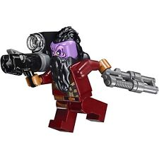 LEGO Marvel Super Heroes TASERFACE MINIFIGURE AUTHENTIC NEW w/ Guns 76079