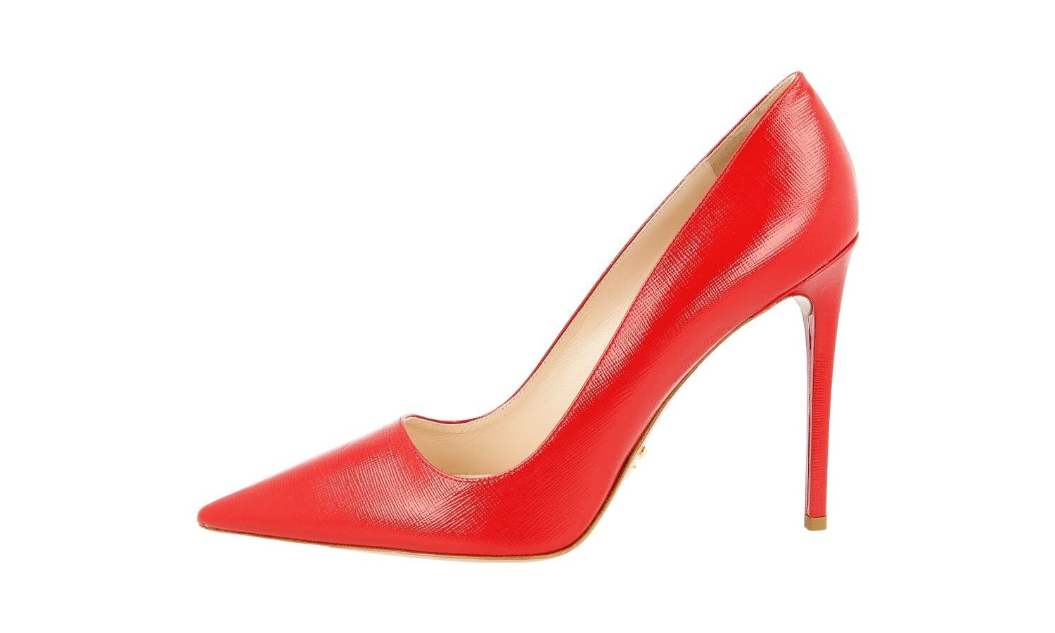 LUXUS PRADA SAFFIANO PUMPS SCHUHE 1I221F ROT ROT 1I221F NEU NEW 39 39,5 UK 6 e4410d