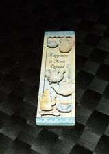 """1997 Quality Artworks Refrigerator Magnet """"Happiness Is Home Brewed"""""""