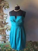Donna Ricco Women's Blue Bubble Bottom Dress SZ 10 NWT