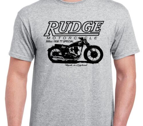 RUDGE ULSTER TT INSPIRED VINTAGE MOTOBIKE CLASSIC BIKE shirt tshirt