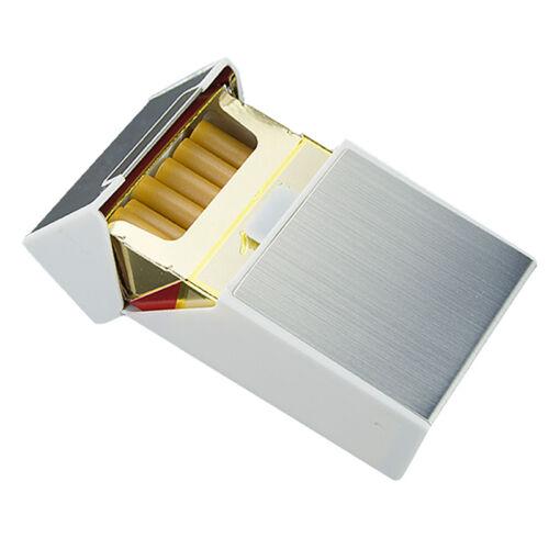 Aluminum Zigarettenetui Zigarettenbox Tabak Dose Schachtel Zigarettenschachtel