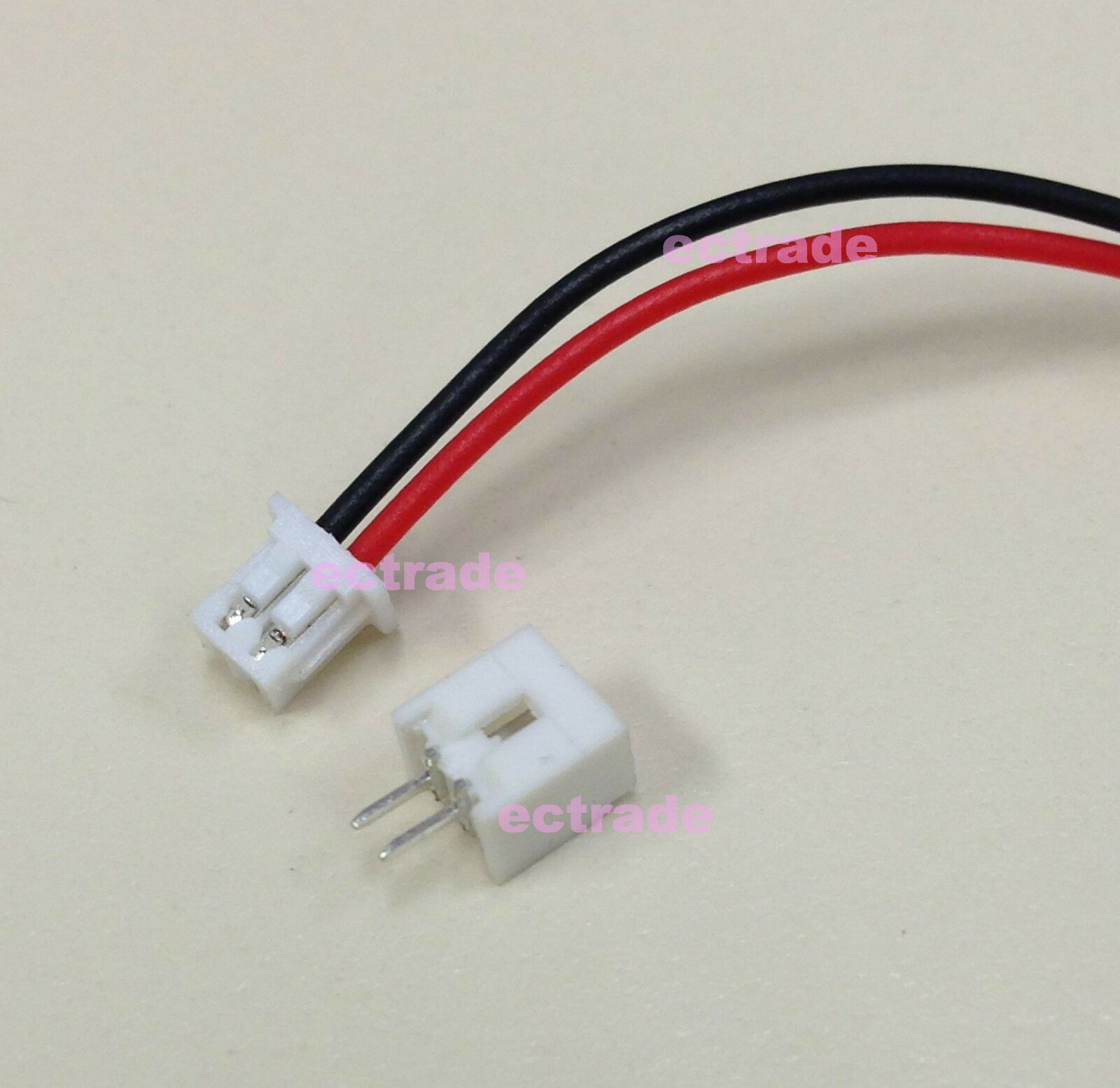 50 Pairs Micro JST 1.25 3-Pin Male /& Female Connector Plug Wires Cables 150mm