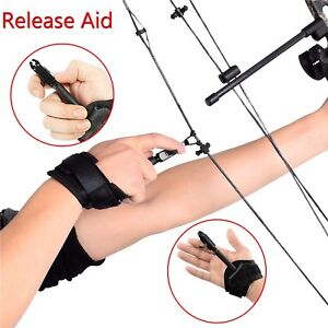 Archery-Hardcore-Forward-Trigger-D-Loop-Release-Aid-for-Compound-Bow-Hunting-NEW