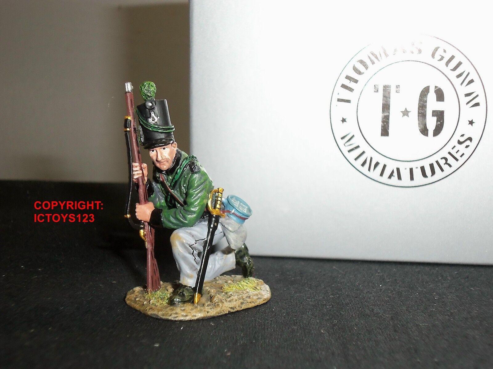 THOMAS GUNN NAP032A KINGS GERMAN LEGION KNEELING METAL TOY SOLDIER FIGURE