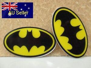 Plastic-Flatback-Planar-Resin-Embellishment-Batman-Yellow-2-Pack-for-DIY