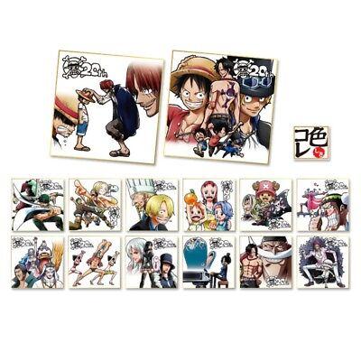 Lastone One piece 20th anniversary ichiban kuji SHIKISHI signboard  K all 14