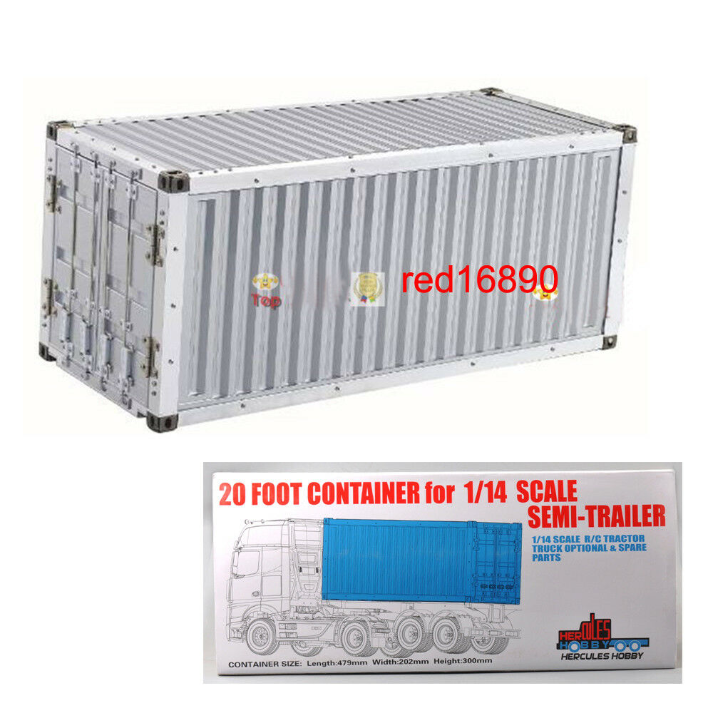 Alloy 20Foot Container Frame for 1 14 Actros trailer Tractor Tamiya RC Model Car