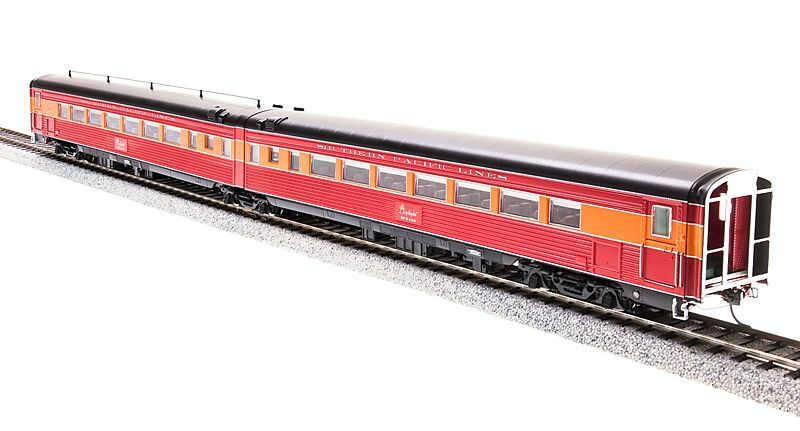 HO BROADWAY LIMITED SOUTHERN PACIFIC COAST DAYLIGHT 1941 WAR TIME   681 LIGHTED