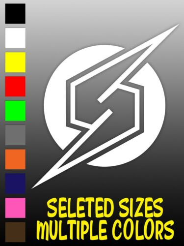 SELECT SIZE AND COLORS Details about  /SAMUS SCREW ATTACK LOGO METROID DECAL Window Car
