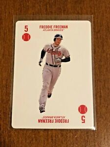 2019-Topps-52-Card-Baseball-Base-Card-Freddie-Freeman-Atlanta-Braves
